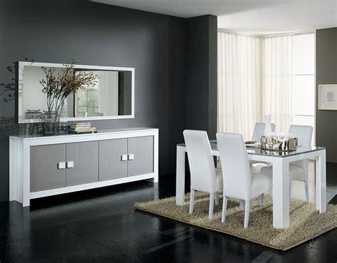 salle 224 manger couleur blanc et gris laqu 233 design mariela 2
