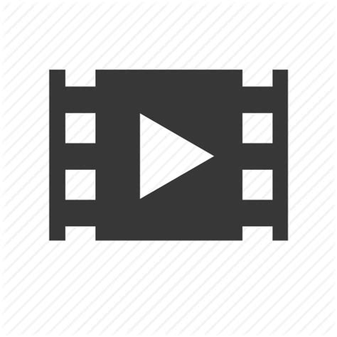 electronics multimedia play raw simple video icon