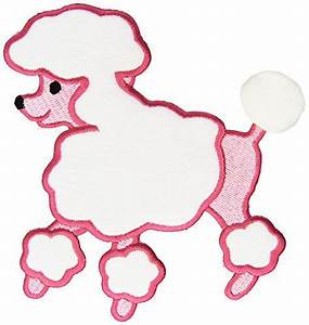 poodles poodle skirt pattern and poodle skirts on pinterest With poodle skirt applique template