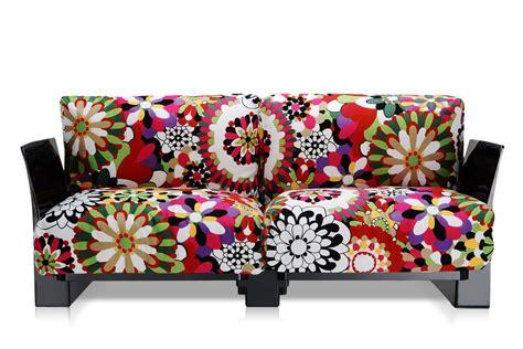 tessuti poltrone e sofa pop missoni sofa divano kartell di design 2 o 3 posti