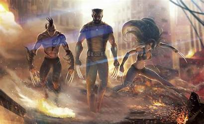 Wolverine Wallpapers Team 4k Superheroes Artstation Artwork