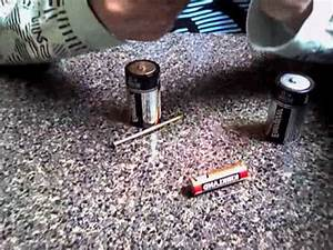 How to make a homemade electro-magnet - YouTube