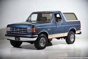 Used 1987 Ford Bronco Eddie Bauer For Sale ($28,900) | Motorcar Classics Stock #1593