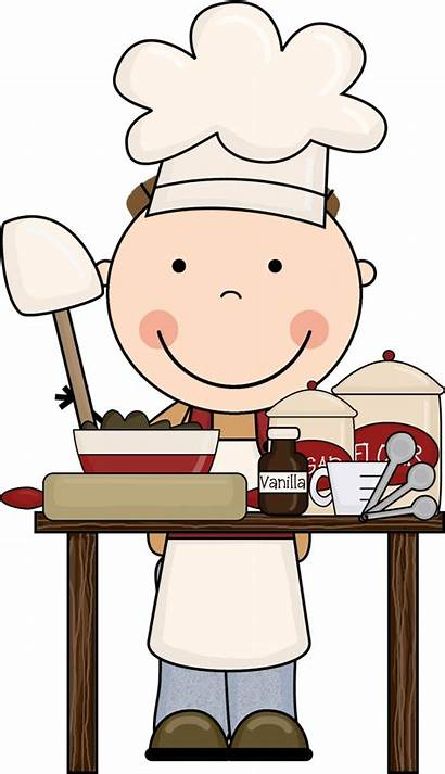 Cooking Clipart Chef Clip Kitchen Boy Clipartion
