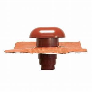 Chapeau De Ventilation : chapeau toiture tuile 80 125mm toiture ~ Melissatoandfro.com Idées de Décoration