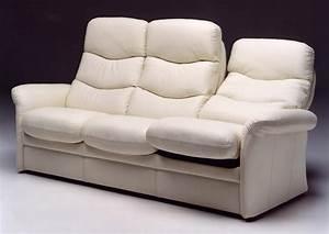 Fauteuil Cuir Blanc : acheter votre fauteuil en cuir blanc haut de dossier et ~ Melissatoandfro.com Idées de Décoration