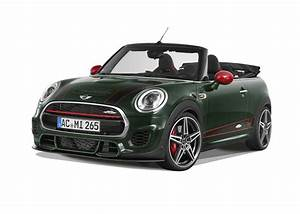 Mini Cabrio Cooper : 265 hp mini cabrio by ac schnitzer why are all the jcws green autoevolution ~ Dode.kayakingforconservation.com Idées de Décoration