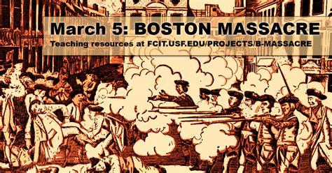 Boston Massacre by March 5 Boston Massacre Fcit