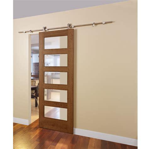 porte de chambre rona rail pour porte coulissante loft rona