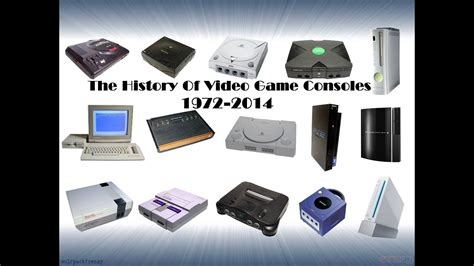 console videogame the history of consoles 1972 2014
