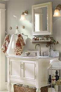 Style De Salle De Bain : la d coration de salle de bain si mignon en vintage ~ Teatrodelosmanantiales.com Idées de Décoration