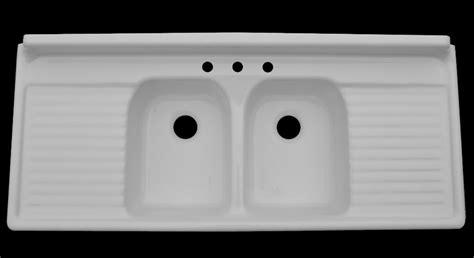 double sink with drainboard farmhouse drainboard sinks retro renovation