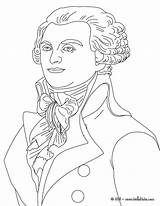 Robespierre Coloring Pages French Hellokids Famous France Print sketch template