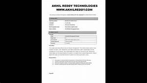 Sample Manual With Selenium 3 Resume