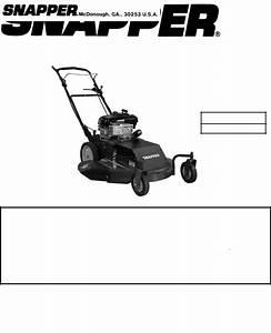 Snapper Hwps26700bv User Manual
