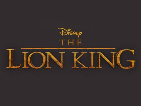 lion king text style  logo  resource
