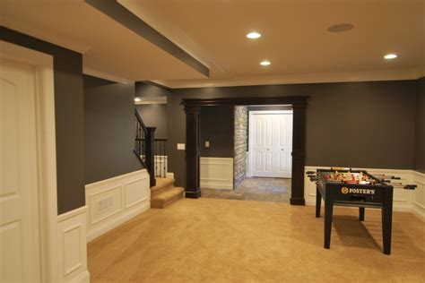 awesome paint colors for basement 4 finished basement