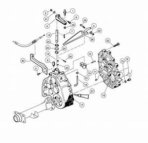 Unitized Transaxle - Gear Cases And Brackets