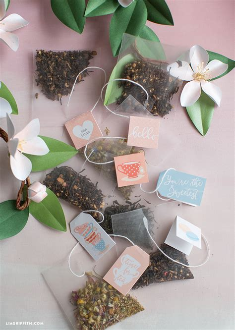 printable tea tags lia griffith