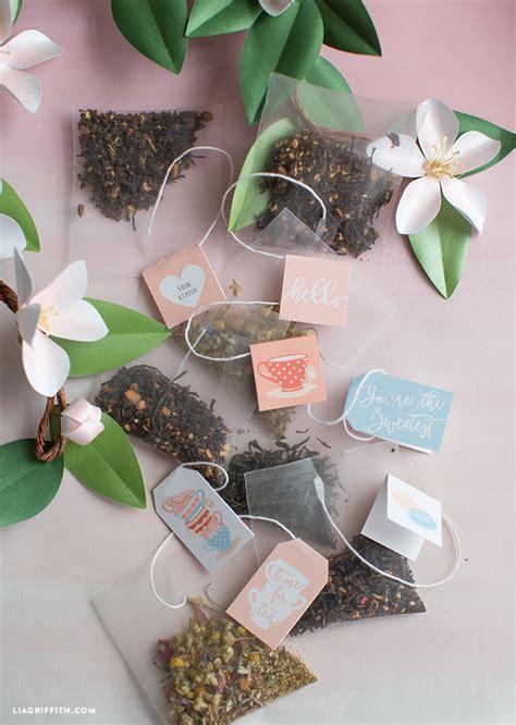 printable tea tags lia griffith