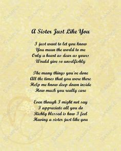 sister poems    cry google search birthday