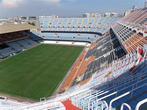 valencia stadium  mestalla stadium map