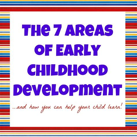 developmental domains  early childhood   teach
