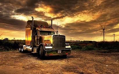 Truck Kenworth Trucks American Sunset W900 Usa