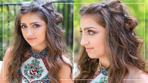 how to create boho braids kamri s prom hairstyles 2018 youtube