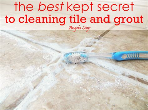 hometalk the best kept secret to cleaning tile and grout