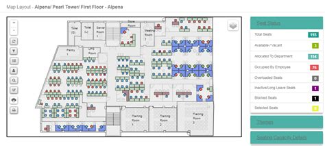 Office Space Utilization Software space management software workspace planning