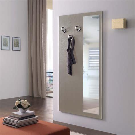 armadio porta abiti per ingresso pannello appendiabiti con specchio family f10