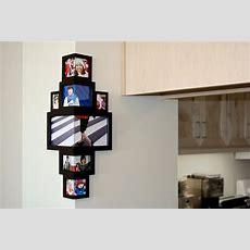 Wraparound Photo Frame Lets You Decorate That Odd Corner Post