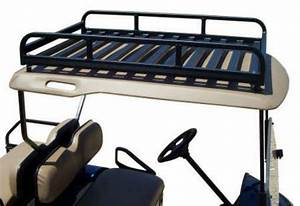 Custom Golf Cart Roof Rack