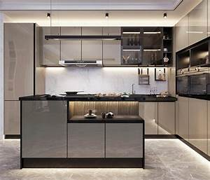 Gloss, Affordable, Kitchen, Cabinet, Ideas