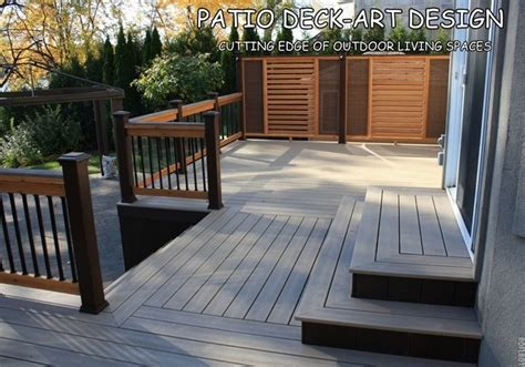 trex deck designs pictures patio deck designs 174 trex contemporary porch