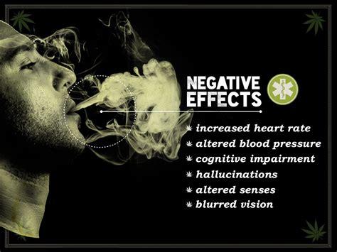 negative effects altered senses blurred