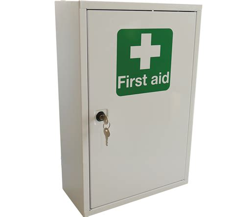 empty first aid cabinet first aid metal cabinet single door single depth empty