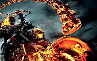 Rider Ghost Wallpapers Fire Vengeance