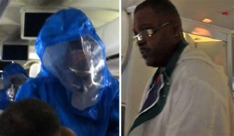 passenger escorted  plane  joking