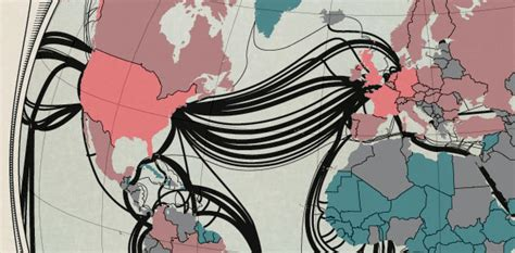 Submarine Cable Map Shows How The Internet Will Travel