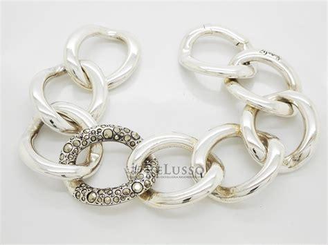 anelli pomellato 67 bracciale pomellato 67 in argento sterling e marcasite 30