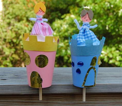 castle craft ideas pop up toys princess castles crafts 1243