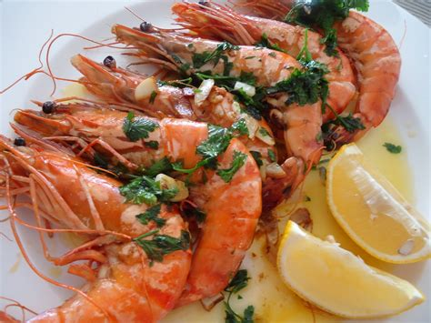 cuisine gambas simple food looking gambas a la plancha