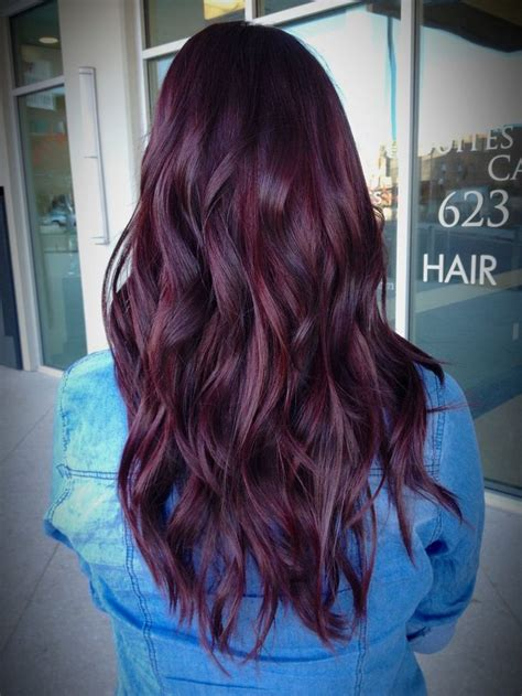 Best 25 Red Violet Hair Ideas Only On Pinterest Red
