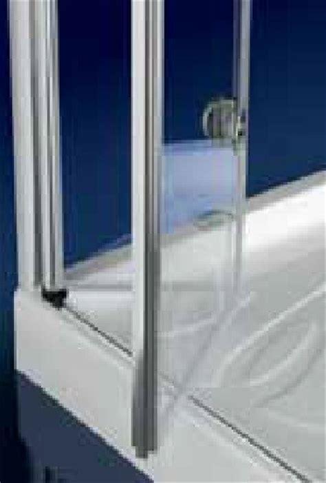 porta a ventaglio porta doccia in cristallo 6mm hidra door apertura a