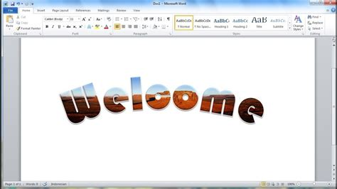 how to make letter microsoft word tutorial how to quickly put an image 22333 | maxresdefault
