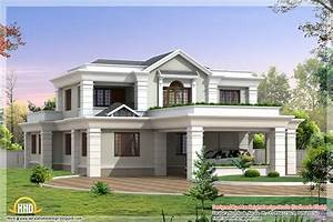 5 Beautiful Indian house elevations - Kerala home design