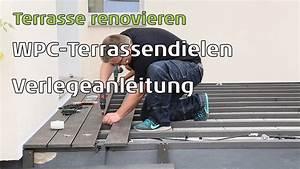 Wpc Dielen Auf Balkon Verlegen : wpc terrassendielen auf alten betonplatten verlegen ~ Michelbontemps.com Haus und Dekorationen