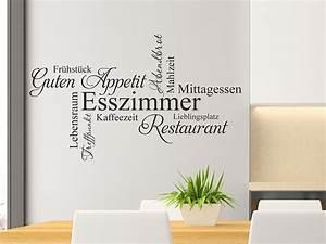Wandtattoo Küche Bilder : wandtattoo unser esszimmer als wortwolke ~ Sanjose-hotels-ca.com Haus und Dekorationen